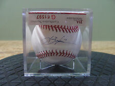 Lance Berkman signed on Sweet Spot on Official Baseball W/COA from JSA, USC#247