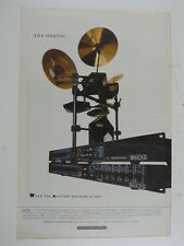 "11x16"" retro magazine advert 1987 SIMMONS sds 1000/tmi"