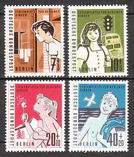Berlin 1960 Mi. Nr. 193-196 Postfrisch LUXUS!!!
