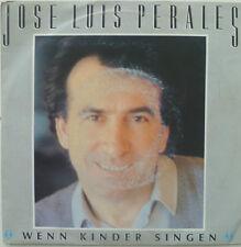 """7"""" 1986 RARE! Jose Luis Perales: se i bambini cantare"""
