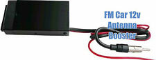 FM Antenna Car Boat RV 12 Volt Radio Stereo Signal Reception Booster Amplifier