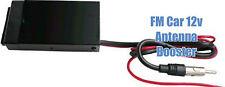 FM Antenna Car Boat RV 12 Volt Radio Stereo Signal Reception Booster Amplifier
