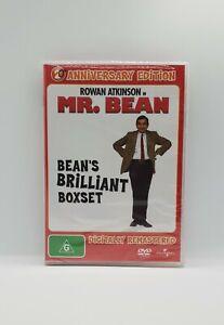 Mr. Bean Bean's Brilliant BoxSet DVD 4-Discs NEW/SEALED Comedy Region 4