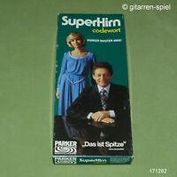 SUPERHIRN Codewort von Parker MASTERMIND Denk- und Logikspiel  Kult 1976 1A TOP