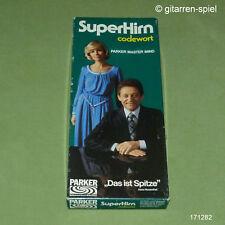 Superhirn Codewort von Parker Mastermind Denk- und Logikspiel  Kult 1976 1A Top!
