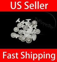 USA 25-50 PCs 11mm Rubber Earring Backs Sleeves Holders Stoppers Nuts Silicone