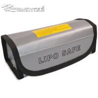 Lipo Bag Akku Tasche Feuerfest Sicherheitstasche Safety Bag 185 mm x70 mmx 60 mm