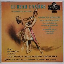 LE BEAU DANUBE: Complete Ballet Strauss Martinon LSO LONDON UK LL 1383 NM! LP