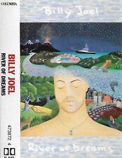 BILLY JOEL RIVER OF DREAMS CASSETTE 10 track album clear shell POP ROCK