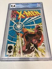 CGC 9.4 THE UNCANNY X-MEN #221 1ST APPEARANCE OF MR. SINISTER LOGAN MOVIE