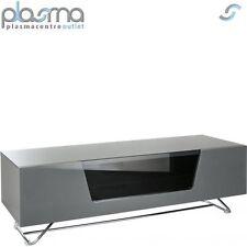 Alphason Chromium Grey Gloss TV Stand 1200mm
