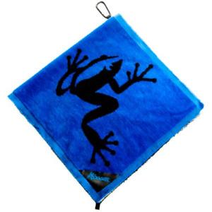 Frogger Amphibian Towel - Red Towel -Free A. Palmer Lapel Pin w Purchase 17.95