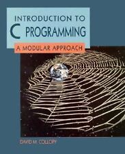 Introduction to C Programming: A Modular Approach