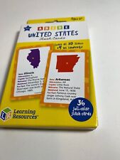 Learning Resources United State Flash Cards
