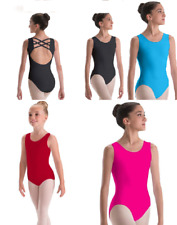 Dance Leotard Medium Child Hot Pink/Red Adult Turquoise Motionwear Ballet Jazz