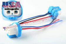 2x 9004 HB1 9007 HB5 Wire Harness Pigtail Halogen Male Female Light Bulb Socket