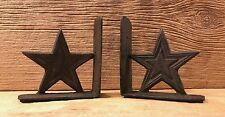 "Cast Iron Dallas Cowboys Lone Star Bookends 5 1/2"" tall Home Decor 0170S-04411"