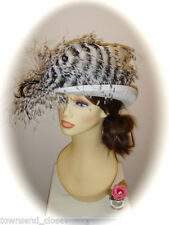 Victoria Ann Sinamay Formal Hats for Women