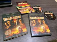 Pirates des Caraïbes DVD La Malédiction de Perle Noir Johnny Depp Keira Knightle