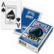 arte Bicycle World Poker Tour - WPT Jumbo Index colore Blu