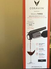 New listing Coravin Model Three Smart Clamp Wine Preservation Black Keep your wine longer
