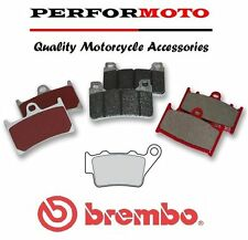 Brembo Carbon Ceramic Rear Brake Pads Honda NX650 V-2 Dominator 97-02