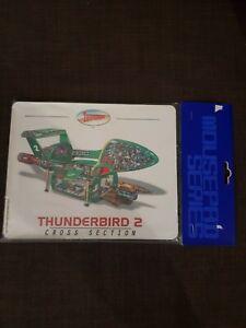 Thunderbirds Mouse Mat - THUNDERBIRD 2 -CROSS SECTUON - New & Sealed