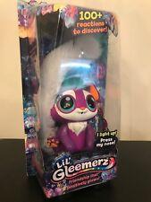 NEW & Sealed Lil' Gleemerz Loomur Purple Interactive Light Up Figure-Mattel