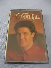 Vince Gill, The Best Of Vince Gill, cassette tape, 1989