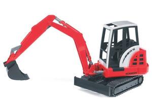 BRU2432 - SCHAEFF HR16 Excavators Toy Bruder