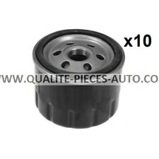 10x Filtres a Huile - Renault Espace III - 2.0 i 116cv, 2.0 i 140cv