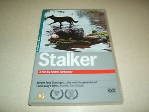 STALKER : RUSSIAN WITH ENGLISH SUBTITLES   REGION 2 DVD