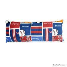 Sports Football Body Pillow Toss Boy Blue Gift Teens Accent Soccer Balls Sherpa