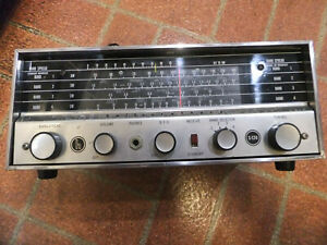 Vintage Hallicrafters S-120 Short Wave Receiver