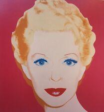 Andy Warhol, Lana Turner, Pat Hearn 1985 Mini Poster Pop Art 29 x 24.5cm 276