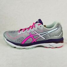 ASICS Gel KAYANO 23 T696N Womens Running Athletic Shoes Pink Silver Gray Size 10