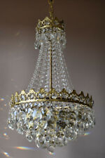 Antique Lighting,Vintage Crystal Chandelier & Light Fittings Home French lamp