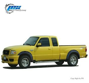 Paintable Pocket Rivet Bolt Fender Flares Fits Ford Ranger 93-11 Full Set