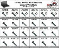 PAN//Round Head Sheet Metal//Wood Screw ZINC Assortment 2320 Pieces