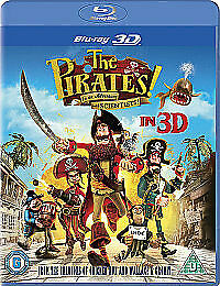 The Pirates! In An Adventure With Scientists (3D Blu-ray, 2012) New & Sealed