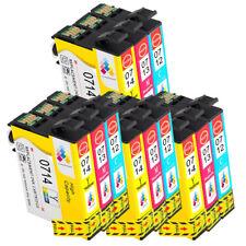 12 CMY Ink Cartridge For Epson Stylus SX218 SX110 SX115 SX215 SX410 SX415 SX515W