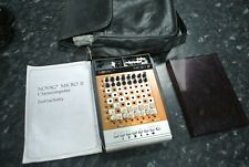 Vintage NOVAG II micro electronic portable chess set  SPARES OR REPAIRS