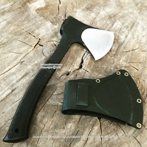 Military US Ranger Axe Hatchet Tomahawk Functional Ax One Piece Solid Design