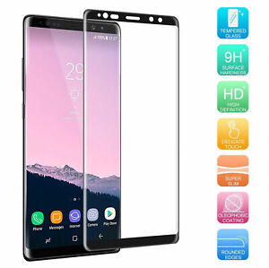 "Protective Glass for Samsung Galaxy Note 8 SM-N950F 6.3 "" Curved Display Cover"