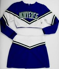 """Adult Size Sexy Cheerleader Uniform Outfit Costume UNIVERSE 34"""" Top 28 Skirt"""