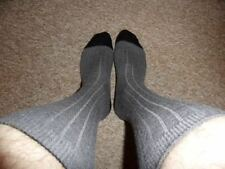 Wool Blend Patternless Socks for Men