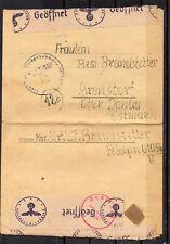 III. Reich, Feldpost, Brief, Kranstorf, ZENSUR !