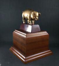 Pig BBQ Cookout, Cook-Off  Trophy Award. Free engraving.