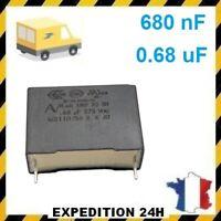 Condensateur MKP X2 0.68uF 0.68µF 680nF 275V 310V 22,5mm