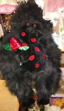 Rose Hot Lips Kisses Black Dan Dee Plush Gorilla Valentine